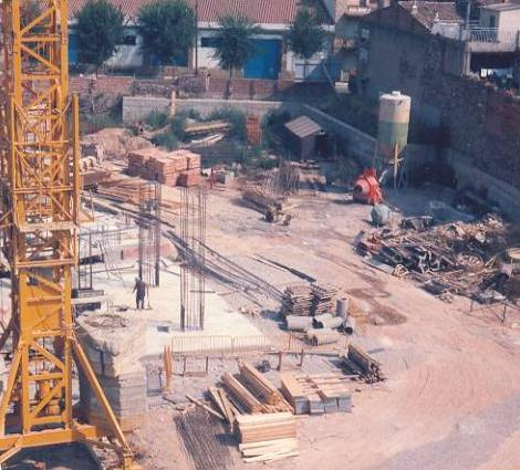 Construcció nou Teatre La Passió Olesa vista general