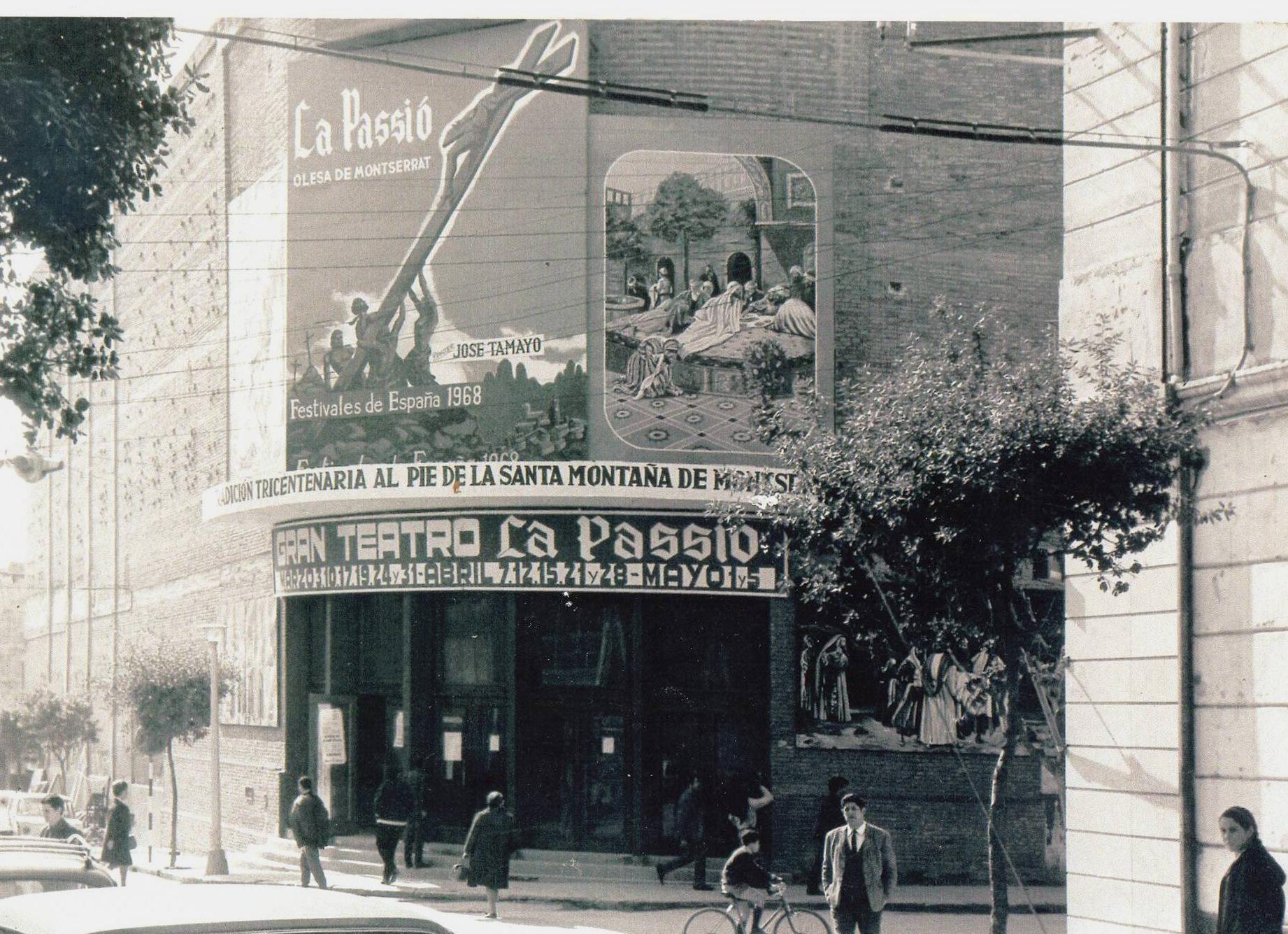 Gran Teatre de La Passió Olesa el 1968