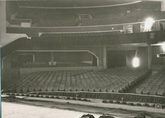 Vista Gran Teatre la Passió Olesa Platea