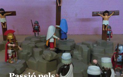 Passió pels Playmobil: escenes de La Passió d'Olesa fetes amb 'clicks'