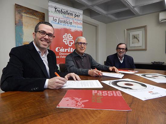 La Passió d'Olesa destinarà a Càritas part de la recaptació del diumenge 8 d'abril