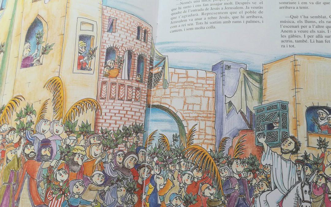 Petita història de La Passió d'Olesa llibre amb dibuixos de Pilarín Bayés
