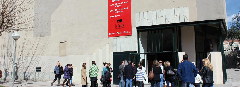 Foto exterior Teatre de La Passió d'Olesa