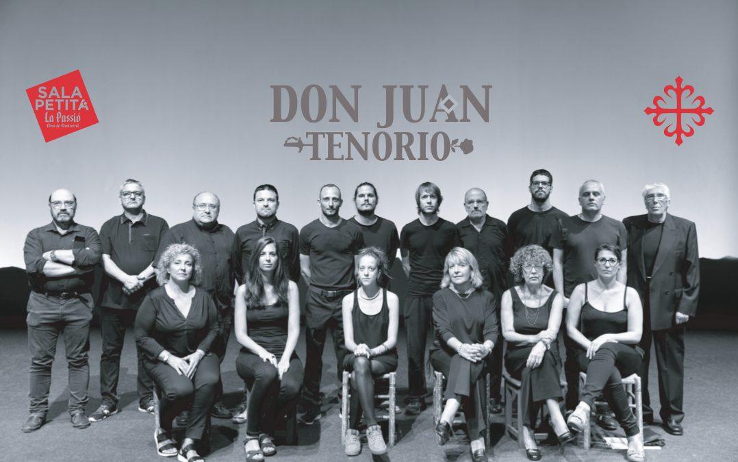 Foto de repartiment Don Juan Tenorio a La Passió d'Olesa