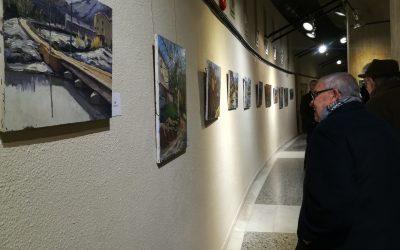Exposició benèfica de Càritas a l'Espai d'Art de La Passió d'Olesa