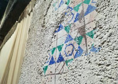 Detall del decorat de les Noces de Canà