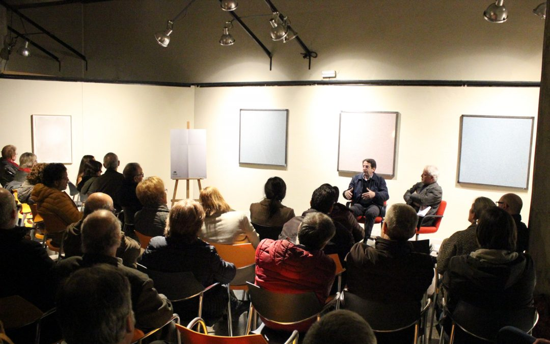 Presentació cartell i diàleg art Ignasi Aballí