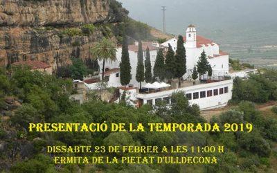 Presentació de la temporada 2019 de la Federació Catalana de Passions