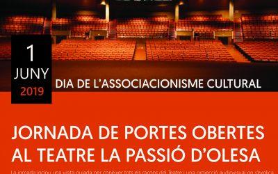 DASC2019: jornada de portes obertes al teatre