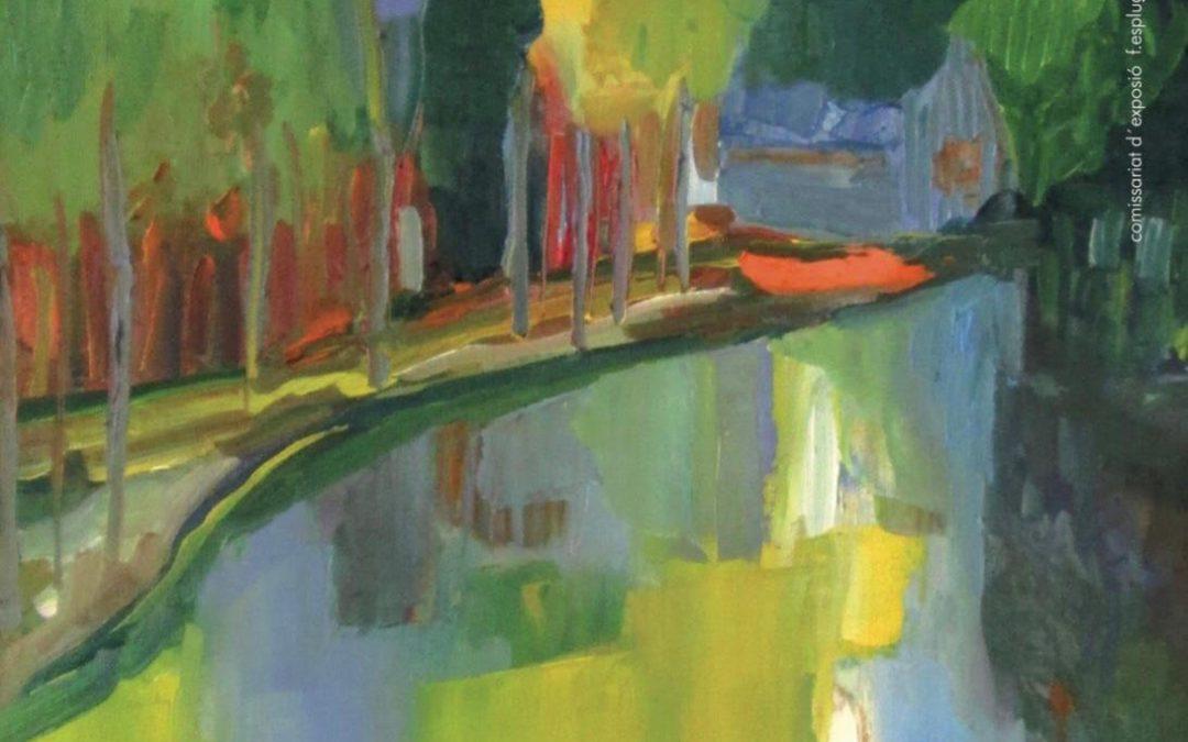'Fulles de mar', la pintura de Marta Salvador a l'Espai d'Art aquest maig