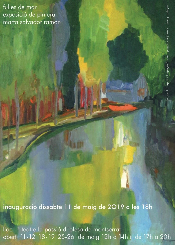 Cartell exposició Marta Salvador