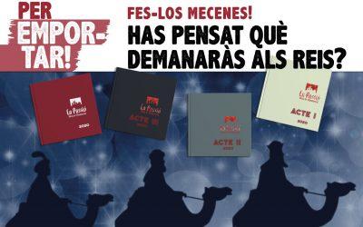 Si el tió, el Pare Noel i els Reis tenen feina per trobar regal, ajuda'ls fent-los mecenes!