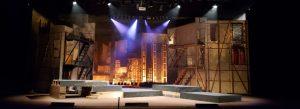 Escenari del teatre de la passió d'olesa