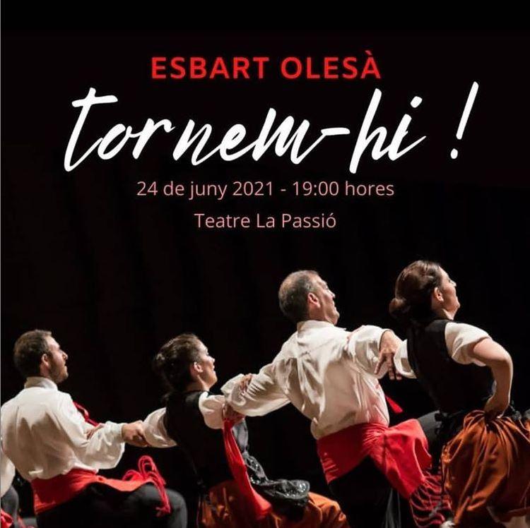 Actuació Esbart Olesa Festa Major 2021